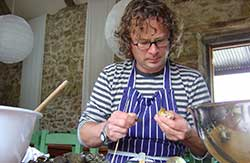Hugh Fearnley-Whittingstall in River Cottage