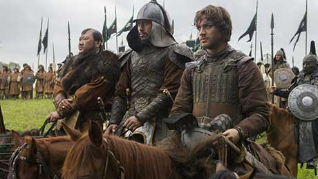 Netflix original historical drama Marco Polo