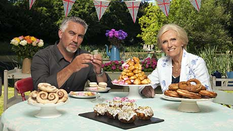 The Great British Bake Off debuted on BBC2 in the UK