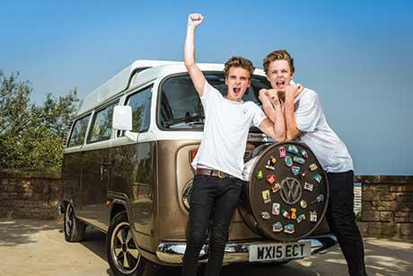 BBC Worldwide road trip film Joe & Caspar Hit the Road