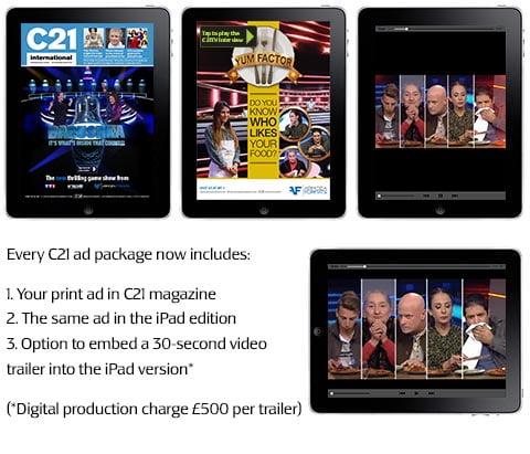 C21 for iPad