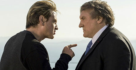Benoît Magimel and Gérard Depardieu in Marseille