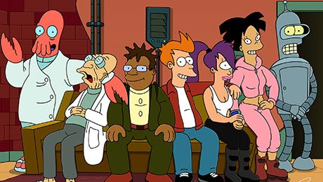 SyFy Picks Up Futurama in Multi-Year Off-Network Rights Deal