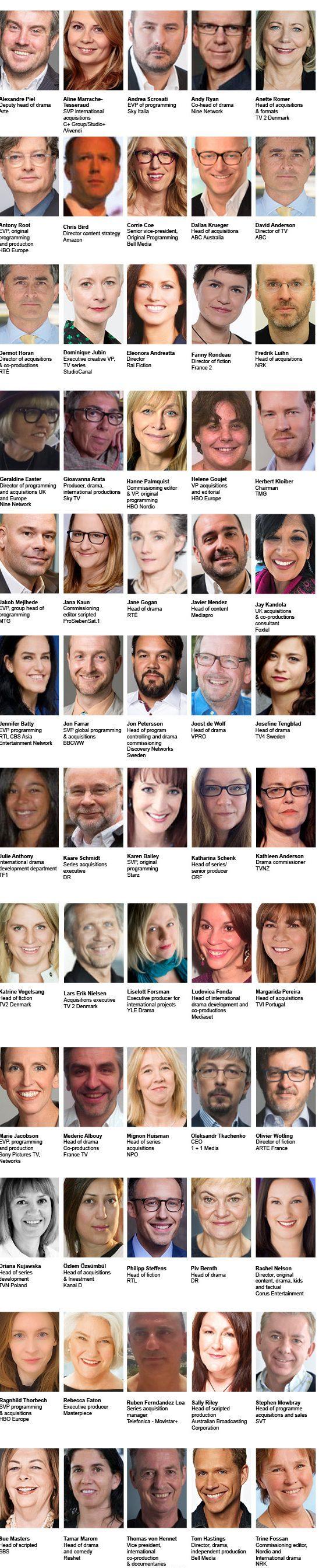 Drama Awards Judges 2017
