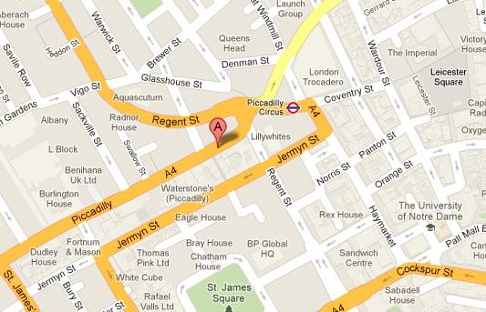 BAFTA Map