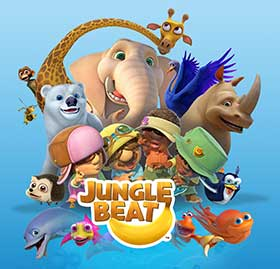 Jungle Beat is produced by Sunrise Pictures
