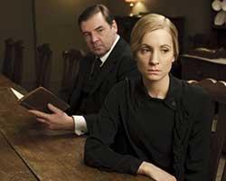 Joanne Froggatt (right) will star in Dark Angel