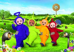 The rebooted Teletubbies