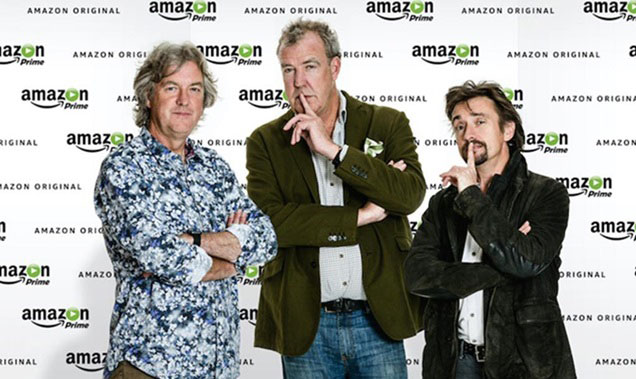 From left: James May, Jeremy Clarkson and Richard Hammond