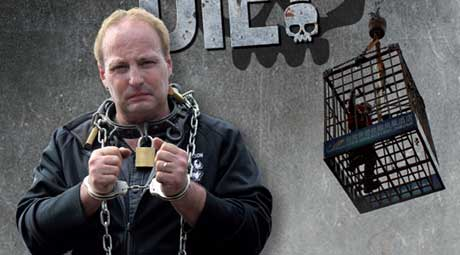 Escape or Die! features escape artist Dean Gunnarson