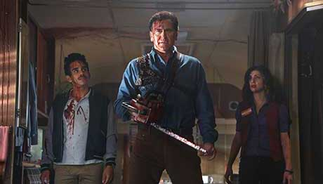 Ash vs Evil Dead has already been given another run on Starz