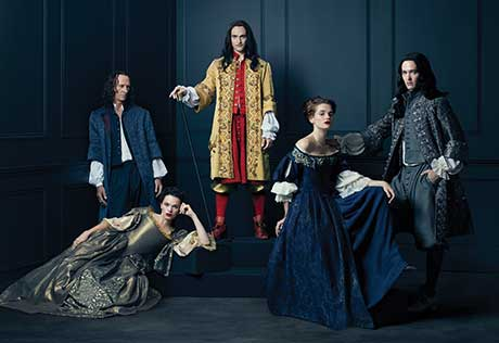 S2 of Versailles begins four years after the first ends