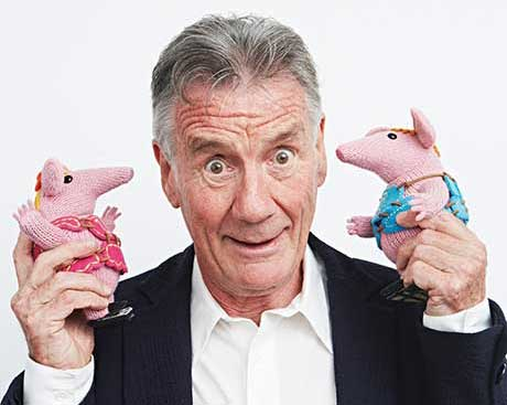 The rebooted Clangers is narrated by Michael Palin