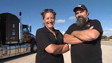 Outback Truckers follows Australia's roadtrain drivers