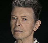 The late David Bowie