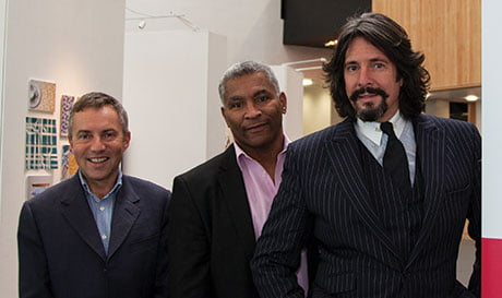 L to R: Mark Rowland, Ben Robinson and Laurence Llewelyn-Bowen
