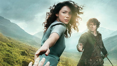 Series such as Outlander will be available on the new service
