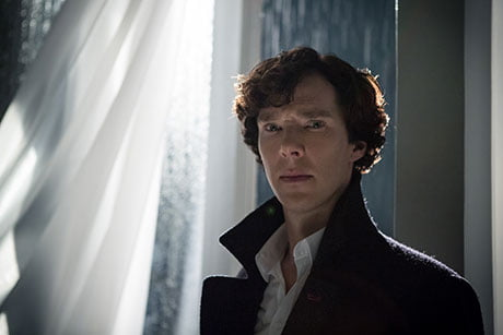 Benedict Cumberbatch in the BBC's Sherlock