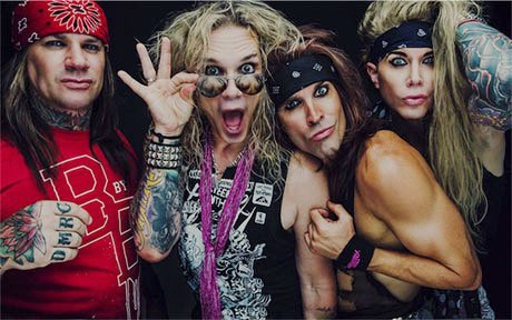 Glam-rock band Steel Panther are set to star in their own scripted comedy