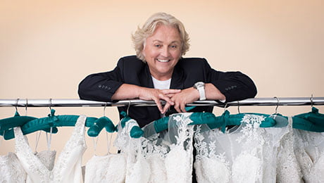 Say Yes to the Dress is fronted by David Emanuel