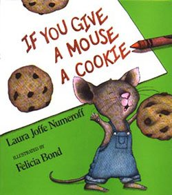 if you give a mouse a christmas cookie by laura numeroff