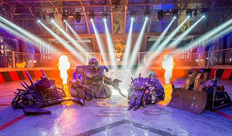 The Robot Wars format will be adapted for South-East Asia