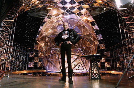 The Crystal Maze originally aired in the early nineties