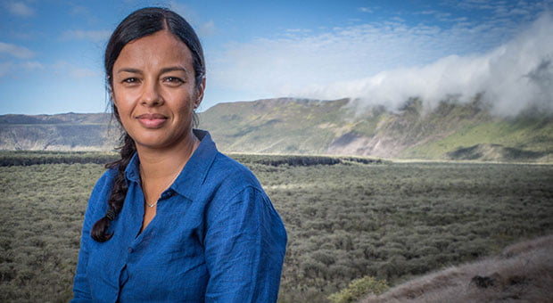 Mission Galapagos will be fronted by Liz Bonnin
