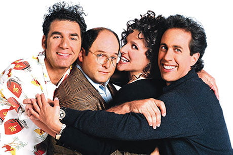 Seinfeld first aired on NBC in 1989