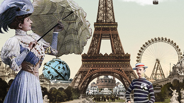 Paris 1900, the City of Lights