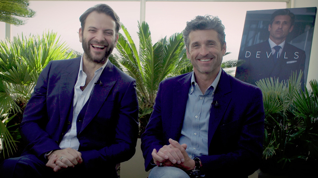 Patrick Dempsey and Alessandro Borghi on new Sky Italia drama series Devils