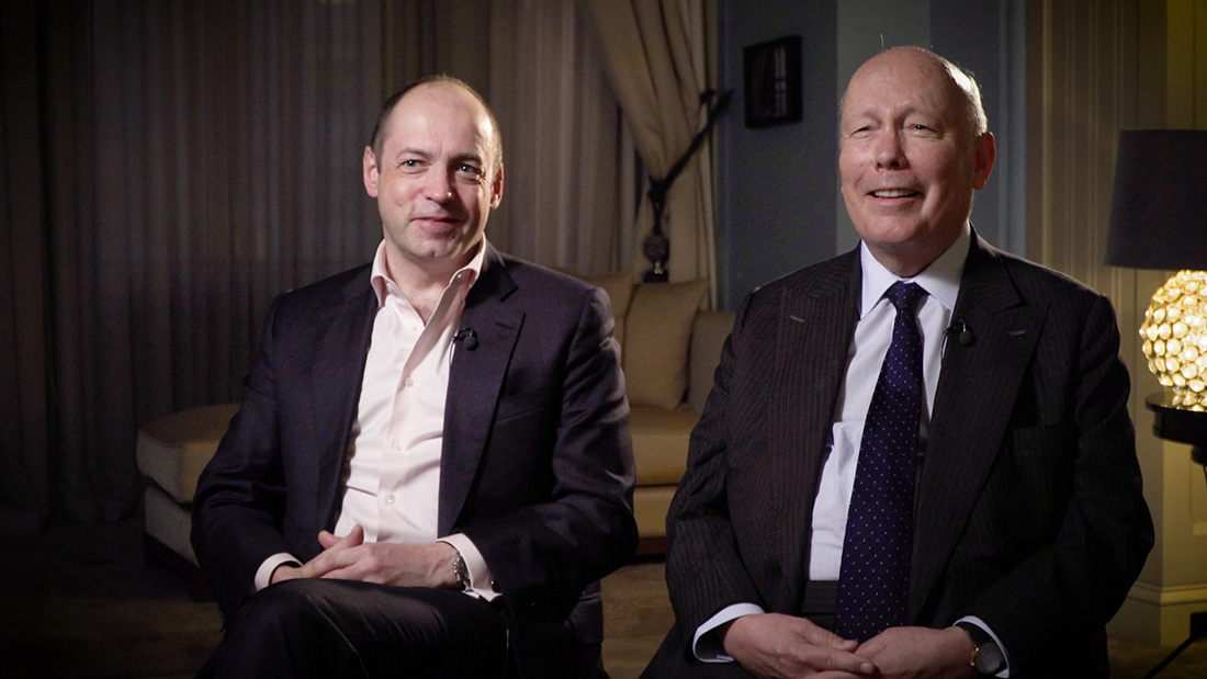 Julian Fellowes and Gareth Neame revisit Downton Abbey
