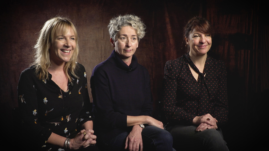 Sarah Williams, Kate Bartlett and Louise Hooper on ITV drama Flesh & Blood