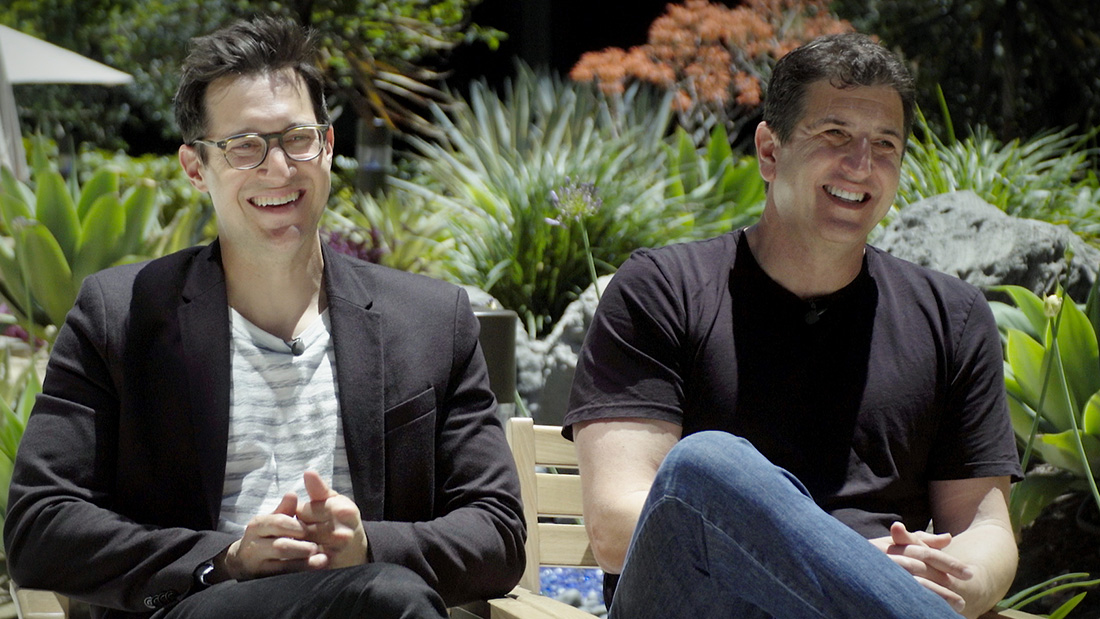 Dan Levy and Doug Robinson on new NBC sitcom Indebted