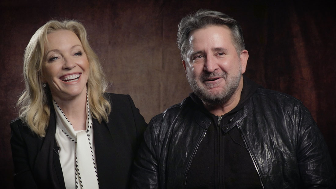 Rebecca Gibney and Anthony LaPaglia talk Halifax: Retribution