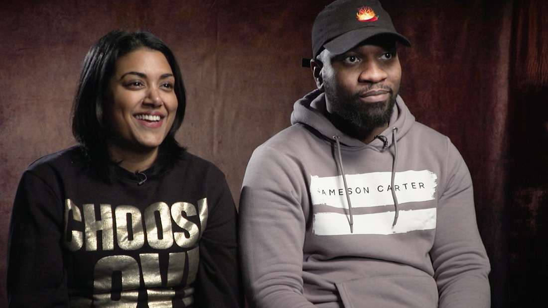 Preethi Mavahalli and Koby Adom talk BBC drama Noughts + Crosses