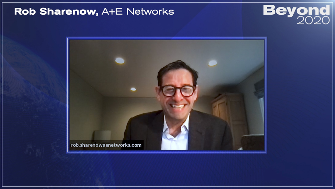 Rob Sharenow of A+E Networks on coping with Covid and the opportunities of 2021