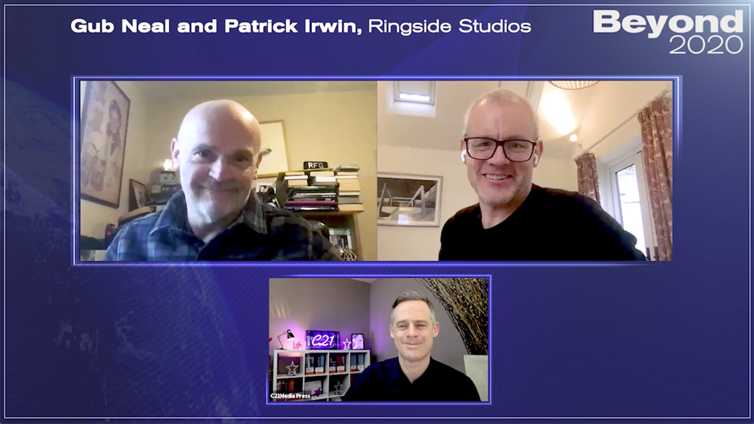 Ringside Studios' Gub Neal and Patrick Irwin on developing drama in a crisis