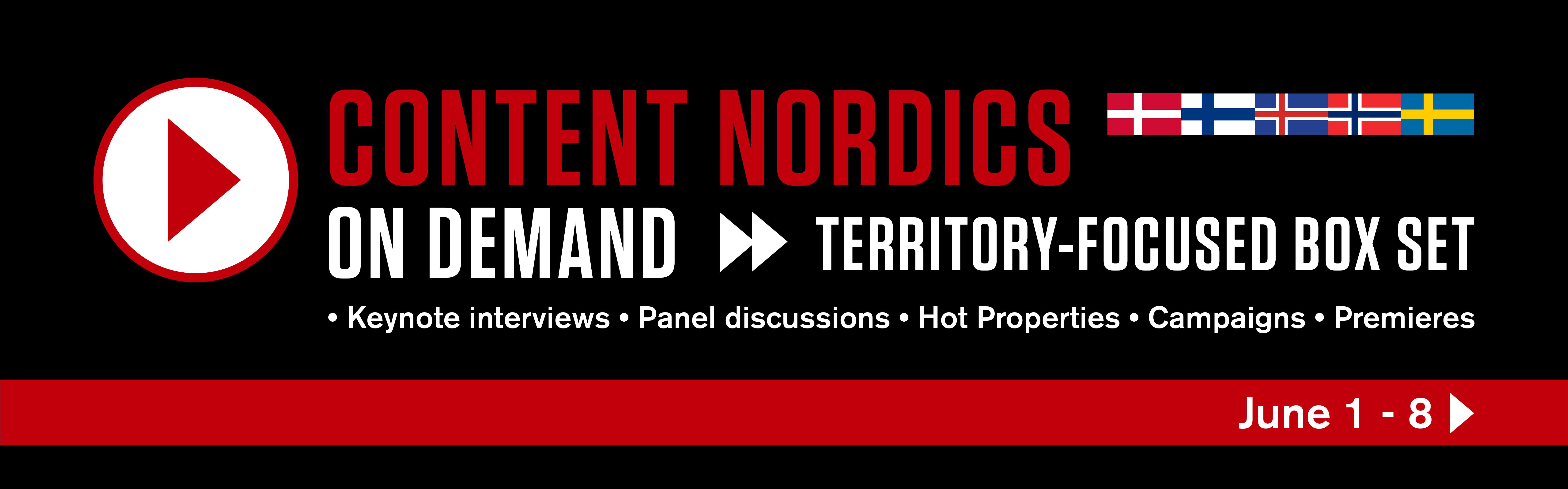 Conent Nordics On Demand