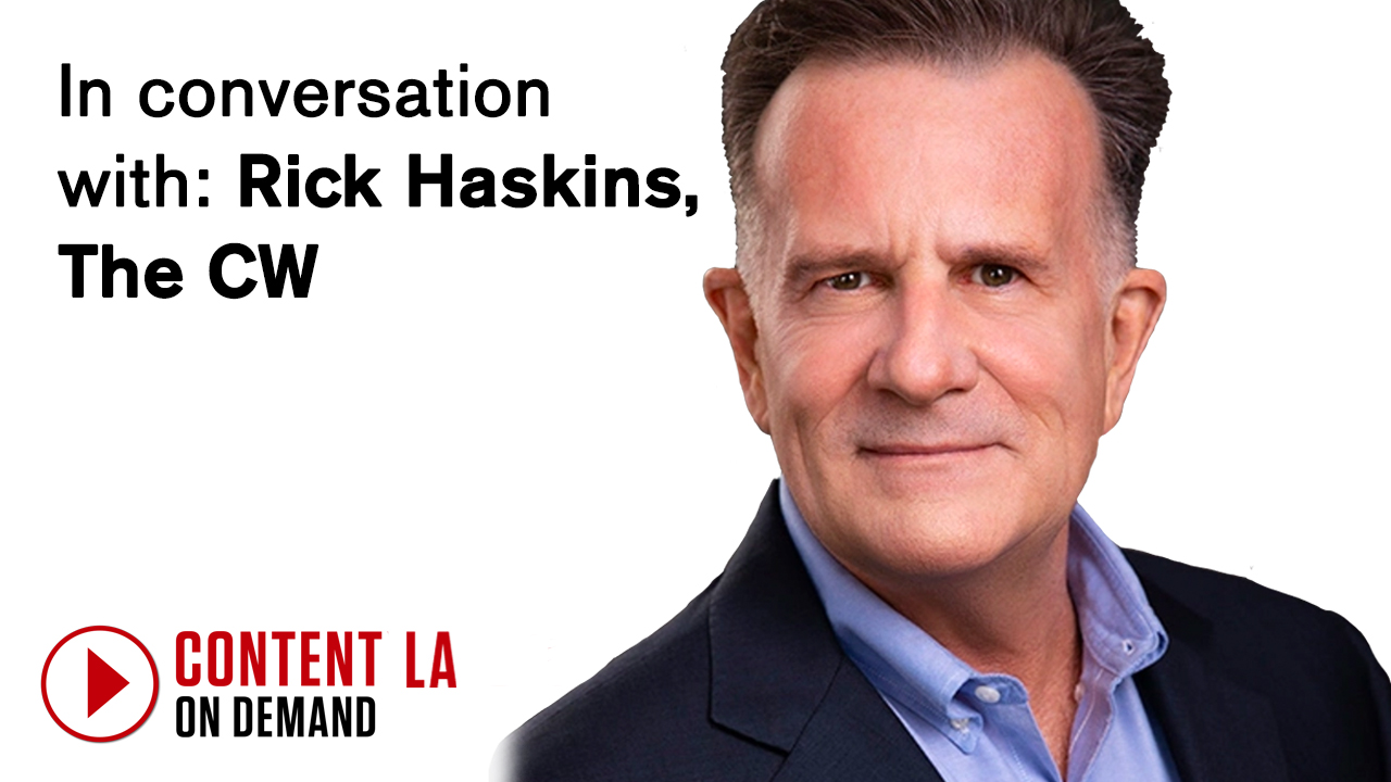In conversation with: Rick Haskins, The CW