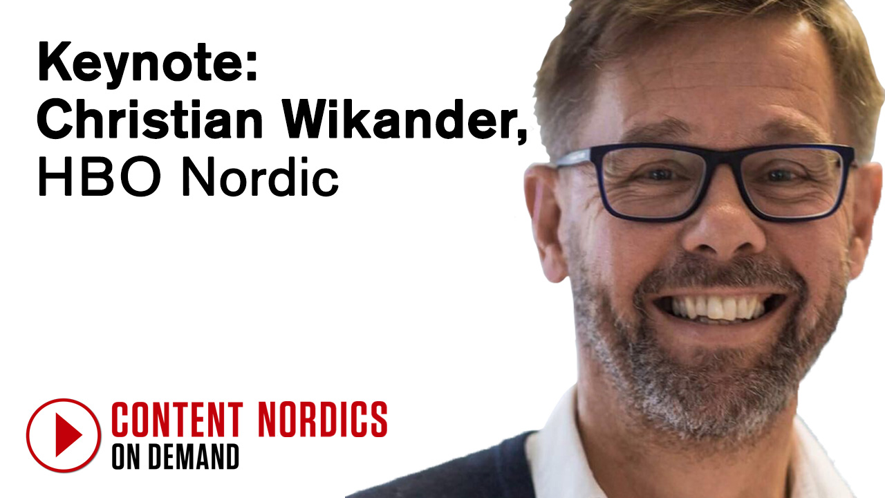 Keynote interview: Christian Wikander, HBO Nordic