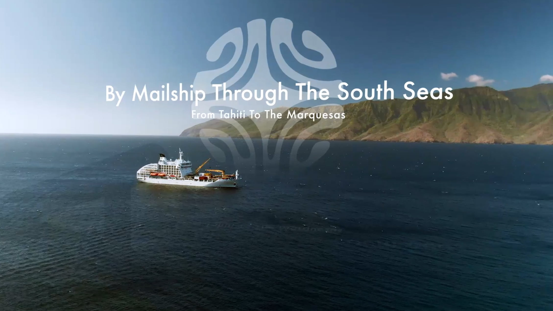 By Mail Ship Through the South Seas