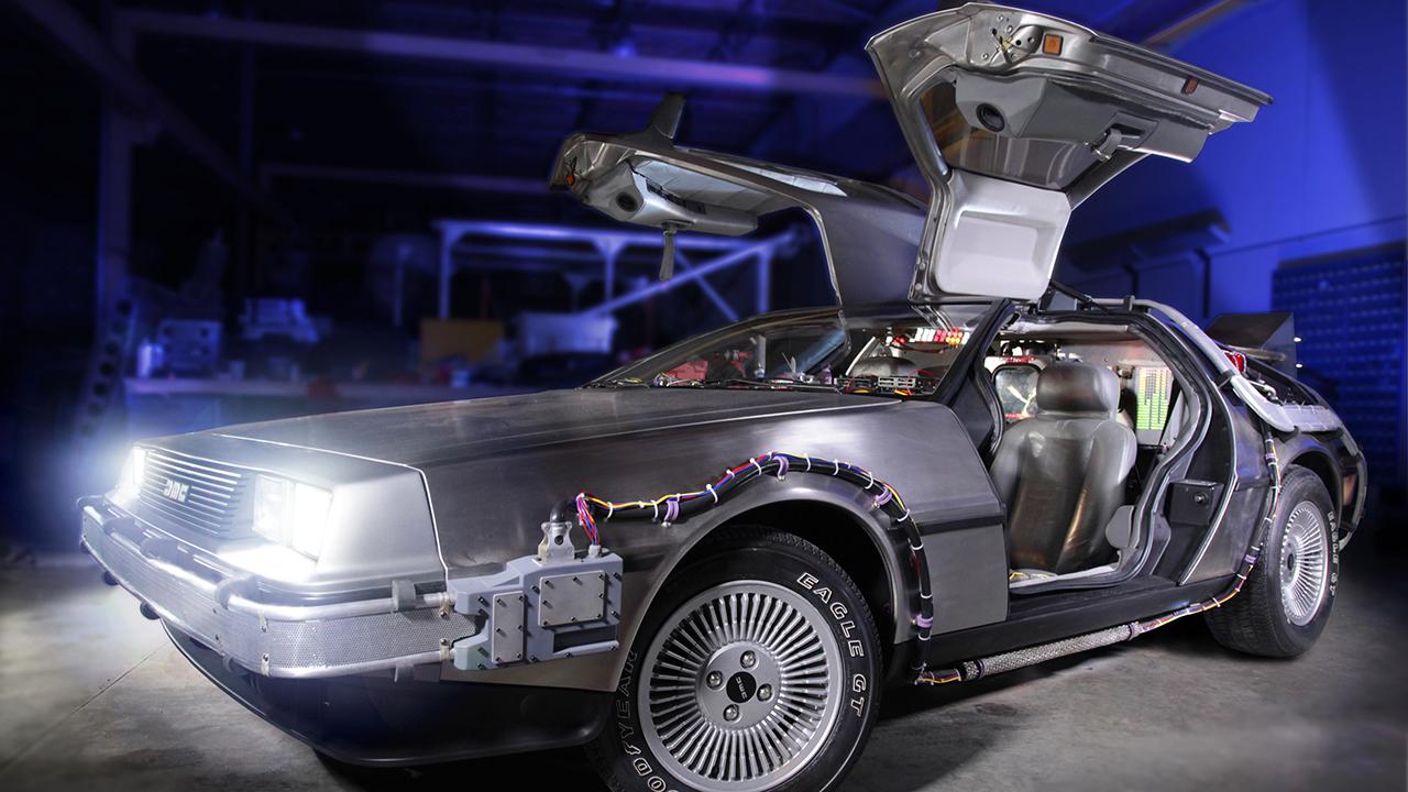 Saving the DeLorean Time Machine