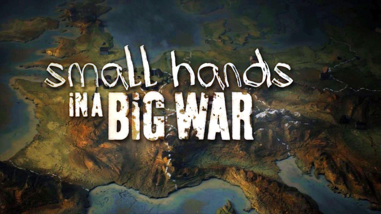 Kleine Hände in einem großen Krieg