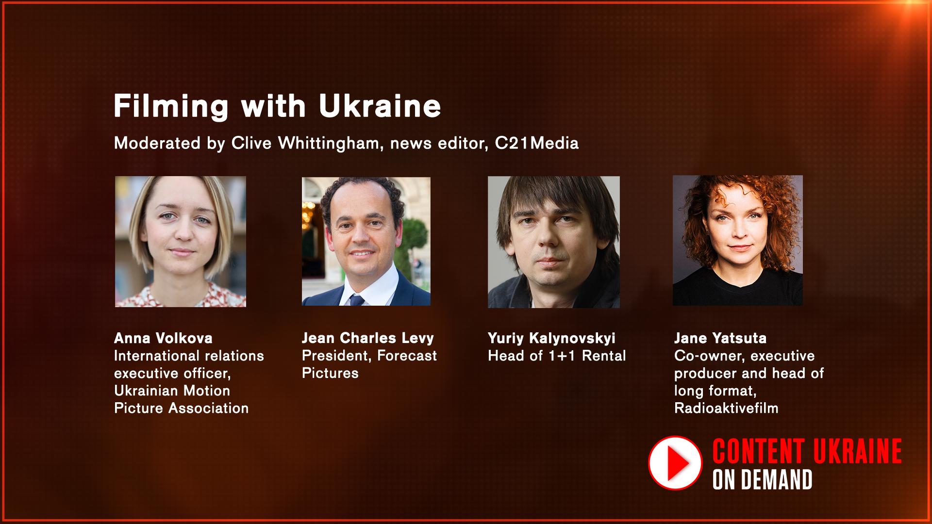 Filming with Ukraine