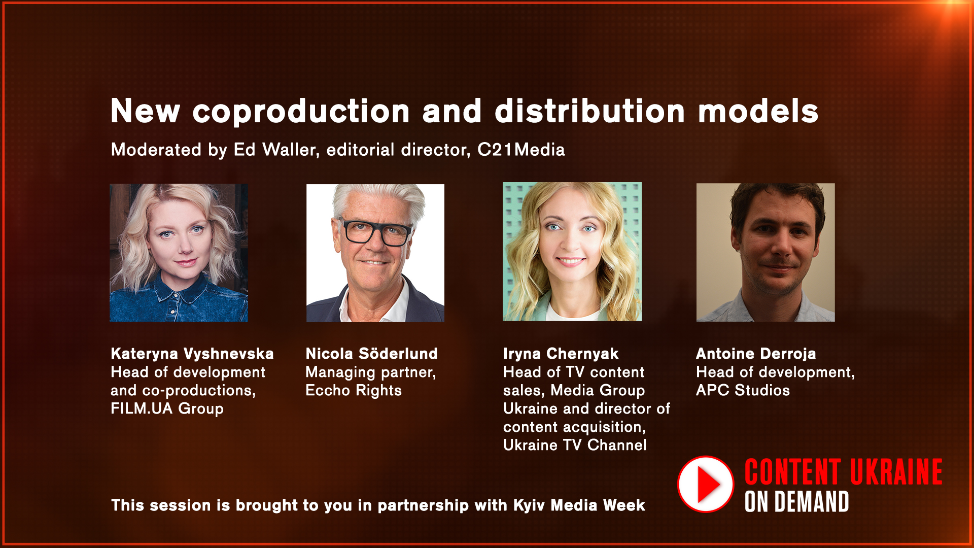 New coproduction and distribution models