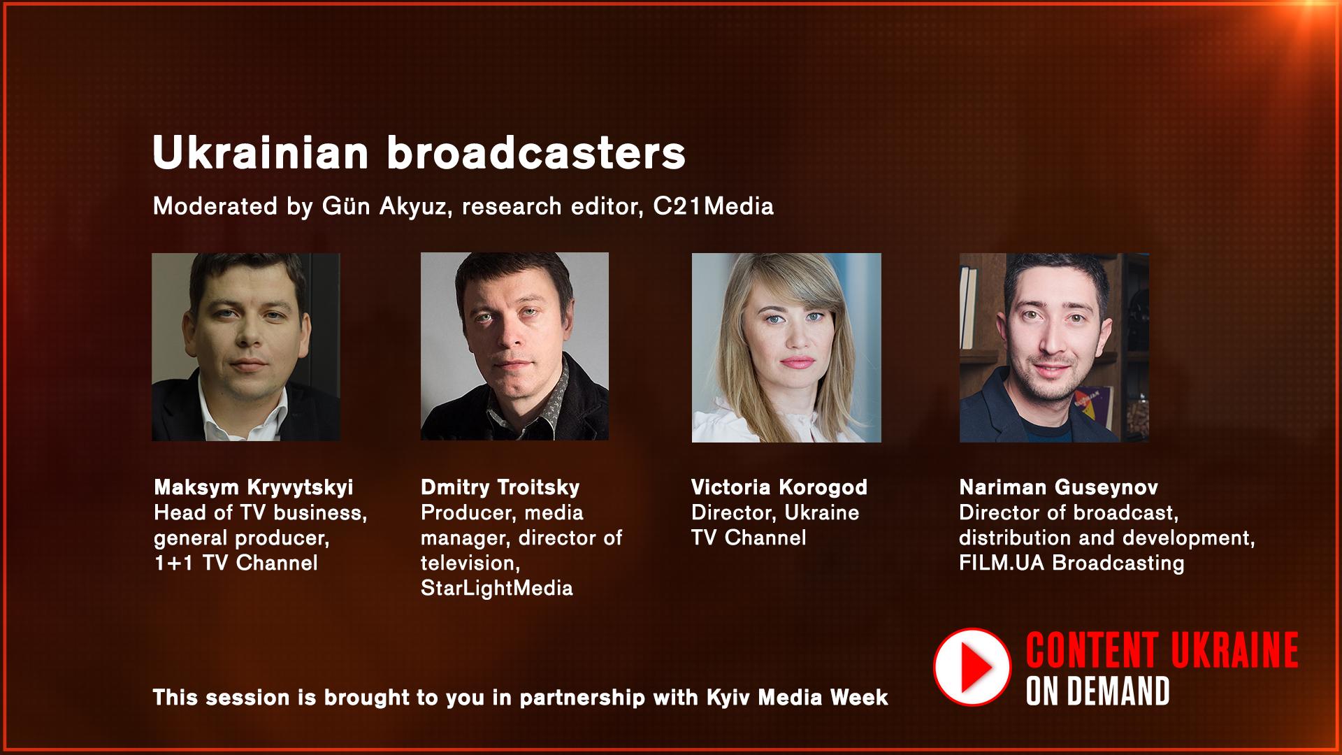 Ukrainian broadcasters