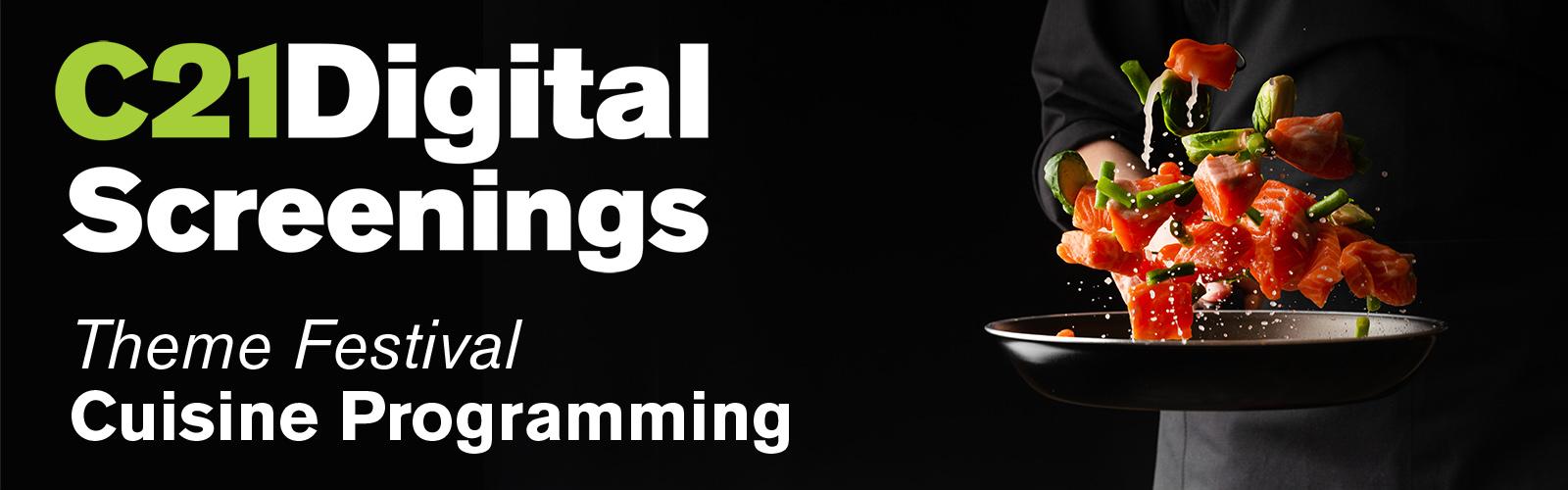 Theme Festival - Cuisine Programming
